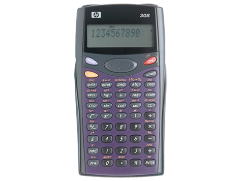 Calculatrice scientifique HP 30s
