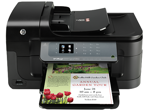 Tiskárna HP řady Officejet 6500A e-All-in-One – E710