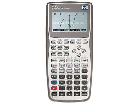 Calculatrice graphique HP 48gII