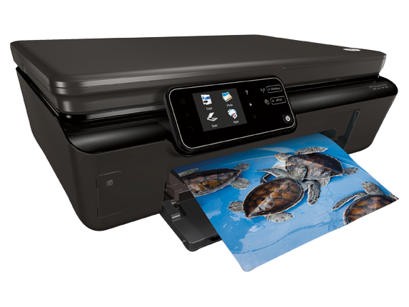 HP Photosmart 5512 e-All-in-One Printer - B111a - Right