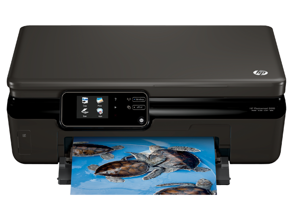 HP Photosmart 5512 e-All-in-One Printer - B111a - Center