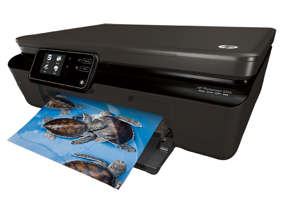 HP Photosmart 5512 e-All-in-One Printer - B111a - Left