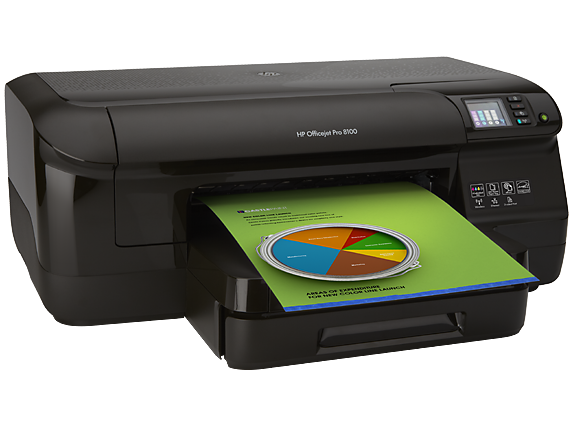 HP Officejet Pro 8100 ePrinter - N811a/N811d - Right