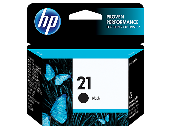 HP 21 Black Original Ink Cartridge - Center