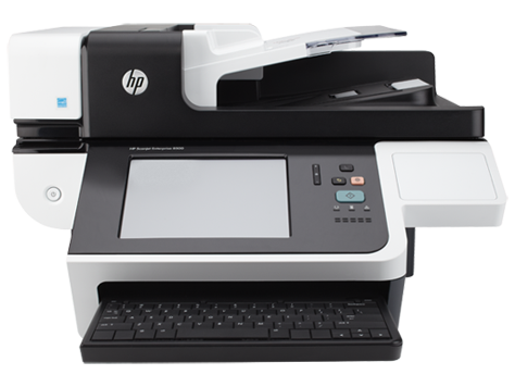 HP Scanjet Enterprise 8500 fn1 Document Capture-arbejdsstation