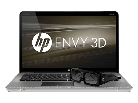 HP ENVY 17-1100 3D Edition Notebook PC-serien