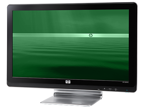 HP 2009m 20-inch Diagonal HD Ready LCD Monitor