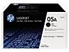 HP 05A 2-pack Black Original LaserJet Toner Cartridges