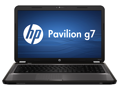 PC notebook HP Pavilion série g7-1100