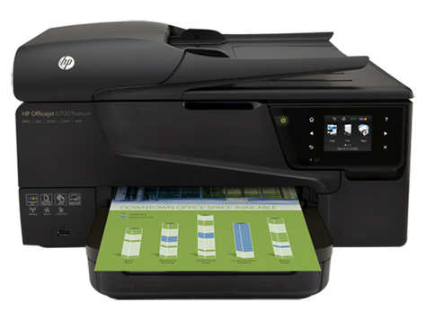 HP Officejet 6700 Premium e-All-in-One-skriverserie - H711