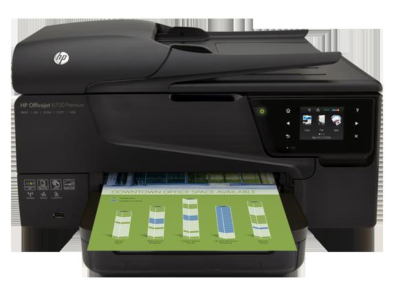 HP Officejet 6700 Premium e-All-in-One Printer - H711n - Center