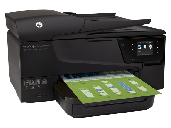 HP Officejet 6700 Premium e-All-in-One Printer - H711n - Right