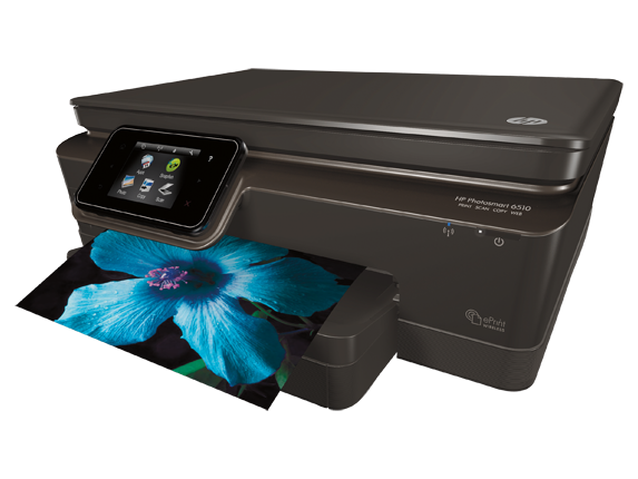 HP Photosmart 6515 e-All-in-One Printer - B211a - Left