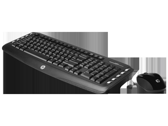 HP Wireless Classic Desktop - Left