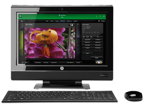 HP TouchSmart 310-1100 Desktop PC series