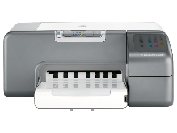 HP Business Inkjet 1200 Printer - Center