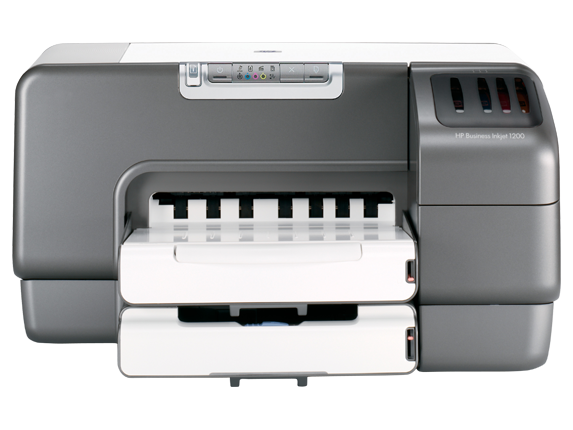 HP Business Inkjet 1200dtwn Printer - Center