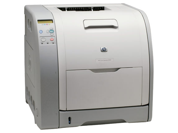 HP Color LaserJet 3550n Printer - Right