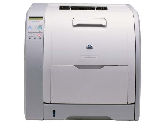 HP Color LaserJet 3550n Printer - Center