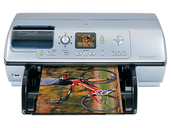 HP Photosmart 8150v Photo Printer - Center