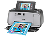 HP Photosmart A646 Compact Photo Printer - Left