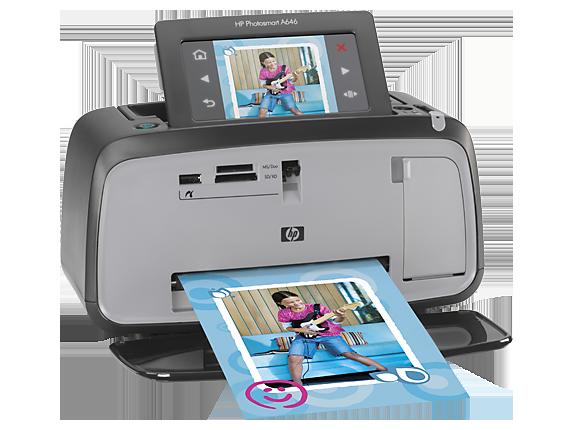 HP Photosmart A646 Compact Photo Printer