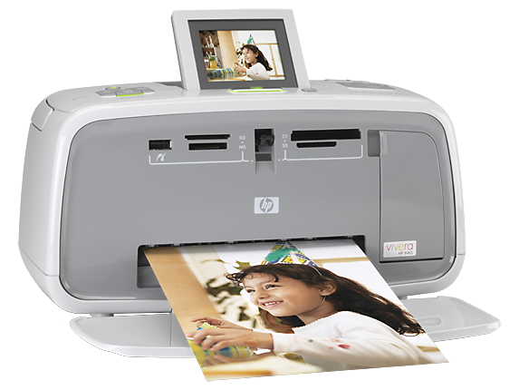 HP Photosmart A610 Compact Photo Printer - Right