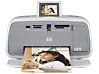 HP Photosmart A610 Compact Photo Printer - Center