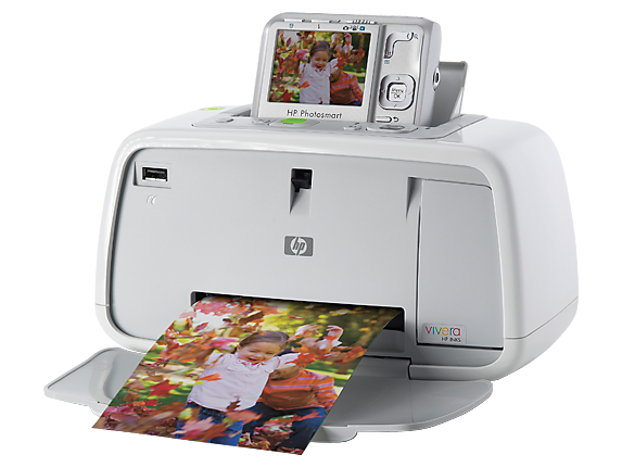 HP Photosmart A444 Camera and Printer Dock - Left