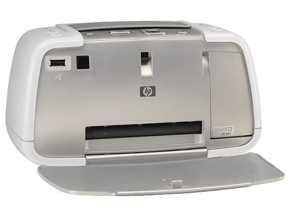 HP Photosmart A430 Portable Photo Printer - Right