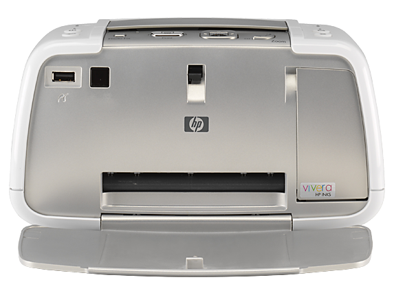 HP Photosmart A430 Portable Photo Printer - Center