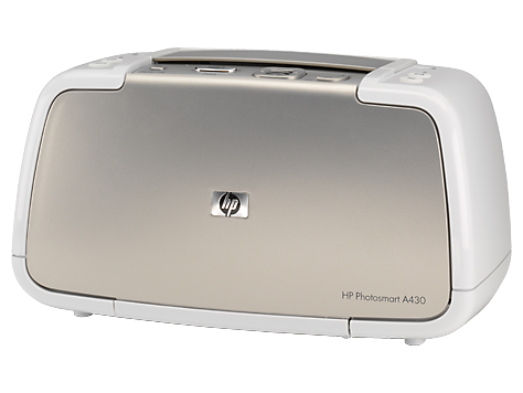 HP Photosmart A430 Portable Photo Studio series