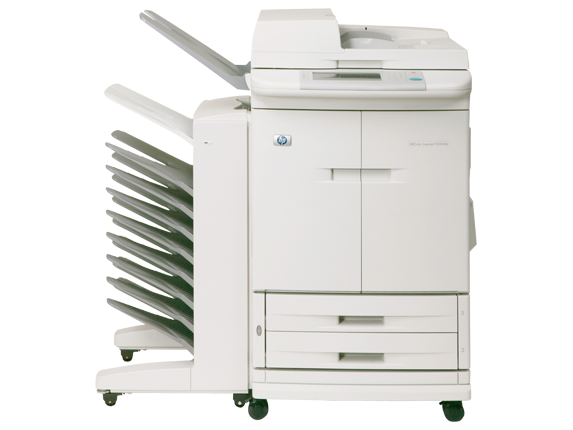 HP Color LaserJet 9500mfp - Center