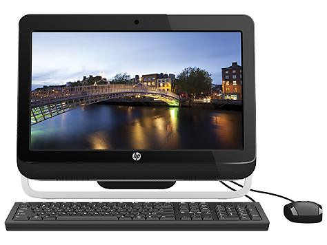 HP Omni 120-2200 Desktop pc-serien