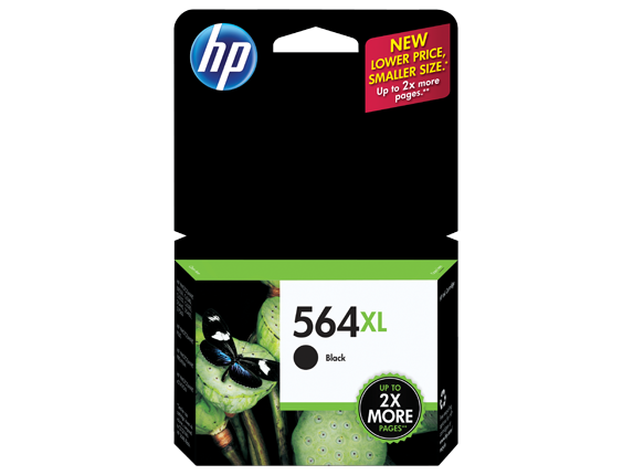 HP 564XL High Yield Black Original Ink Cartridge - Center
