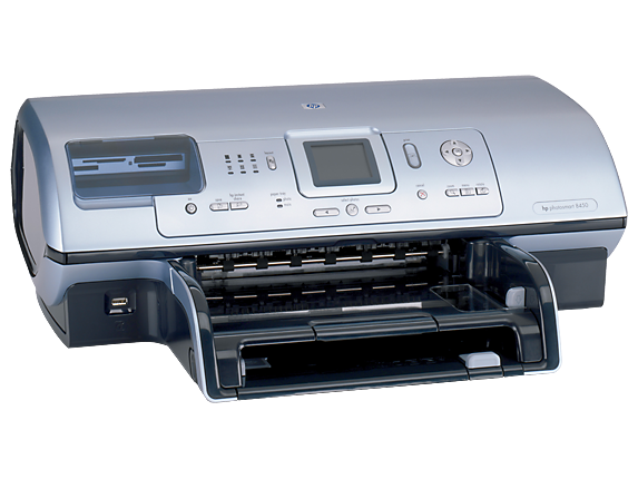 HP Photosmart 8450xi Photo Printer - Right