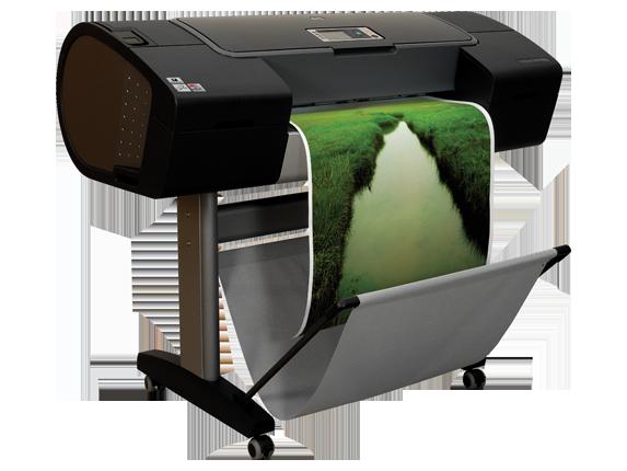 HP Designjet Z3100 24-in Photo Printer - Right