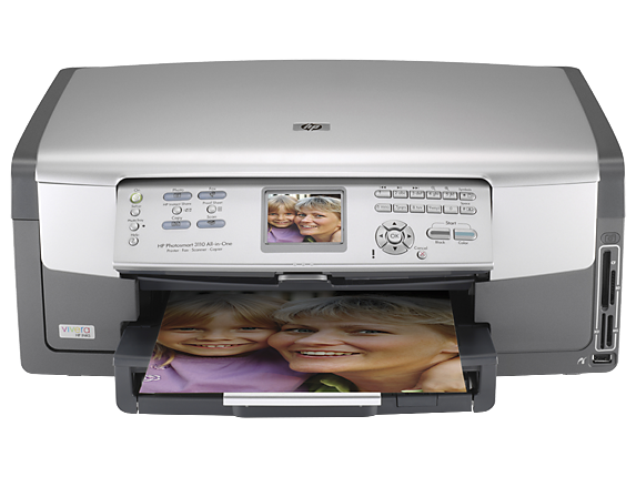 HP Photosmart 3110 All-in-One - Center