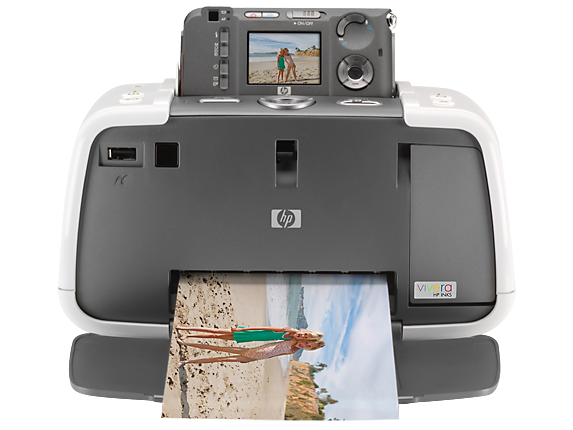 HP Photosmart 425 Portable Photo Studio - Center