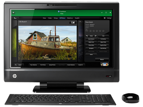HP TouchSmart 620-1100 3D Edition 데스크탑 PC 시리즈