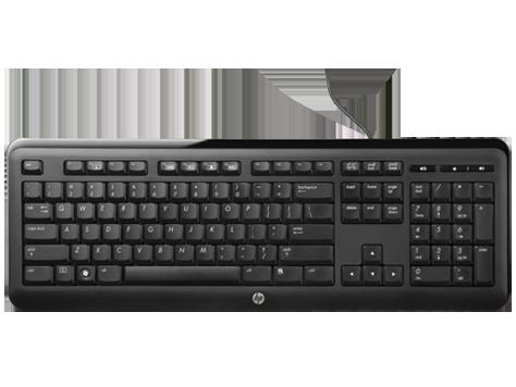 HP tynt tastatur