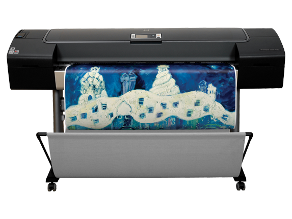 HP Designjet Z3100 44-in Photo Printer - Center