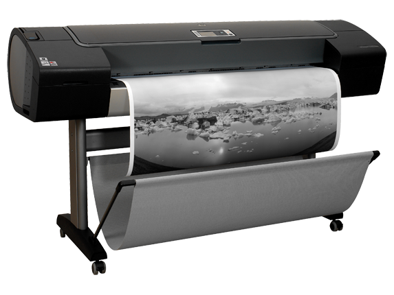 HP Designjet Z3100 44-in Photo Printer - Right