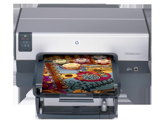 HP Deskjet 6540dt Color Inkjet Printer