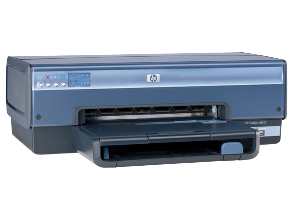 HP Deskjet 6840xi Color Inkjet Printer - Right