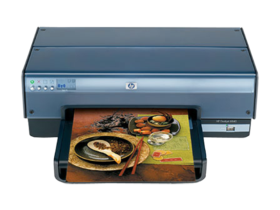 HP Deskjet 6840xi Color Inkjet Printer - Center