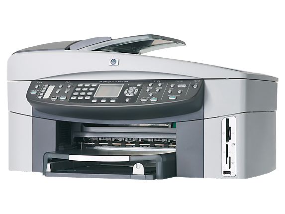 HP Officejet 7310xi All-in-One - Left