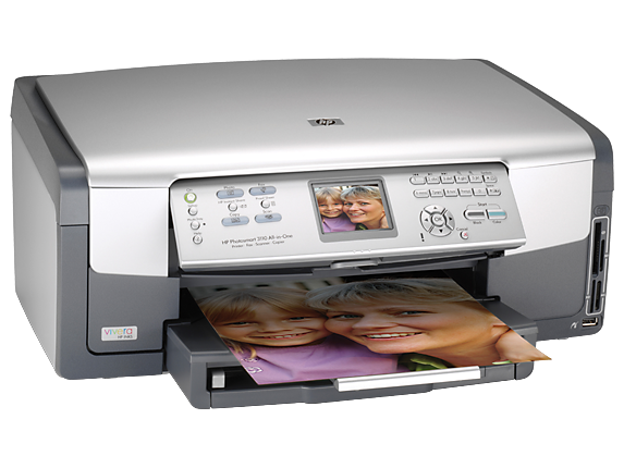 HP Photosmart 3110 All-in-One - Right