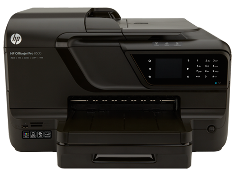 Impresora e-All-in-One HP Officejet Pro serie 8600 - N911