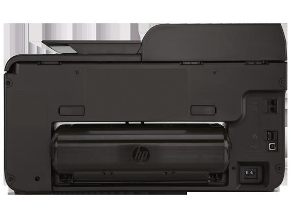 HP Officejet Pro 8600 e-All-in-One Printer - N911a - Rear